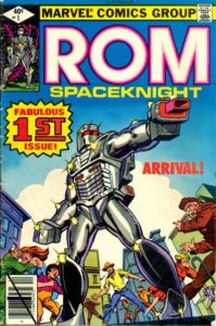 Rom-1-1979-199x300 Why is Rom: Spaceknight Suddenly in Demand?