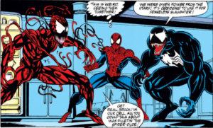 venom-spidey-carnage-300x181 Most Popular Comics: Top Five in September
