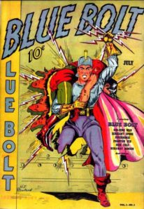blue-bolt-206x300 Auctions Out of the Blue! - Blue Bolt comics up for sale at Heritage