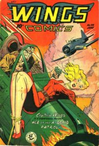 wings-94-203x300 Taking Off - Wings Comics at Heritage