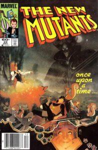 New-Mutants-22-196x300 Modern Art Collection: Bill Sienkiewcz's New Mutants