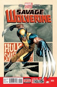 SavageWolverine-198x300 It Is Inevitable: Hulk vs. Wolverine