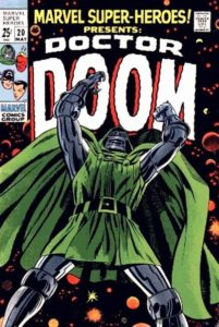 doctor-doom-201x300 The Five Pillars of Comic Book Speculation