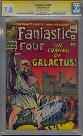 FF-48-Stan-Lee-Signed-7.0 What's a Jack Kirby Autograph Worth?