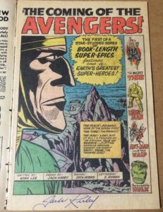 Jack-Kirby-Avengers-1-autograph-231x300 What's a Jack Kirby Autograph Worth?