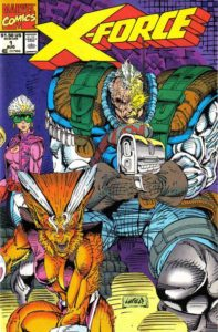 X-force-1-197x300 Ten Key Newsstand Variants from the 1990s Comic Boom