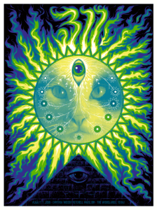 311-Poster-Soto-224x300 The Gig Poster Art of Jeff Soto