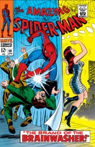 ASM-59-cover-195x300 The Amazing Mary Jane: M.J.'s Early Appearances