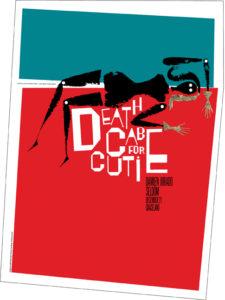 DeathCabPoster2-225x300 The Gig Poster Art of Jeff Kleinsmith