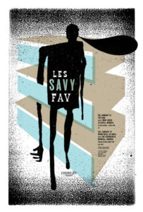 LesSavyFav-203x300 The Gig Poster Art of Jeff Kleinsmith