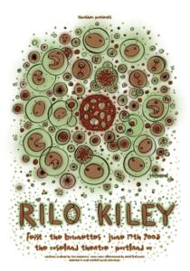 Rilo-Kiley-210x300 Fine Art, Illustration, and Bunny Ears: Tara McPherson's Poster Art