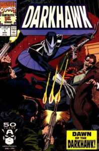 darkhawk-1-197x300 Ten MORE Key Newsstand Variants from The 1990s Comic Boom