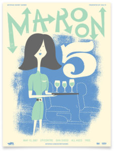 maroon01-226x300 The Gig Poster Art of A. Micah Smith