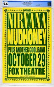 Nirvana-185x300 Mike King Nirvana Poster Gets Top Bid