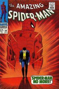 spidey-50-199x300 Newbie Comic Collecting: The Homage Cover