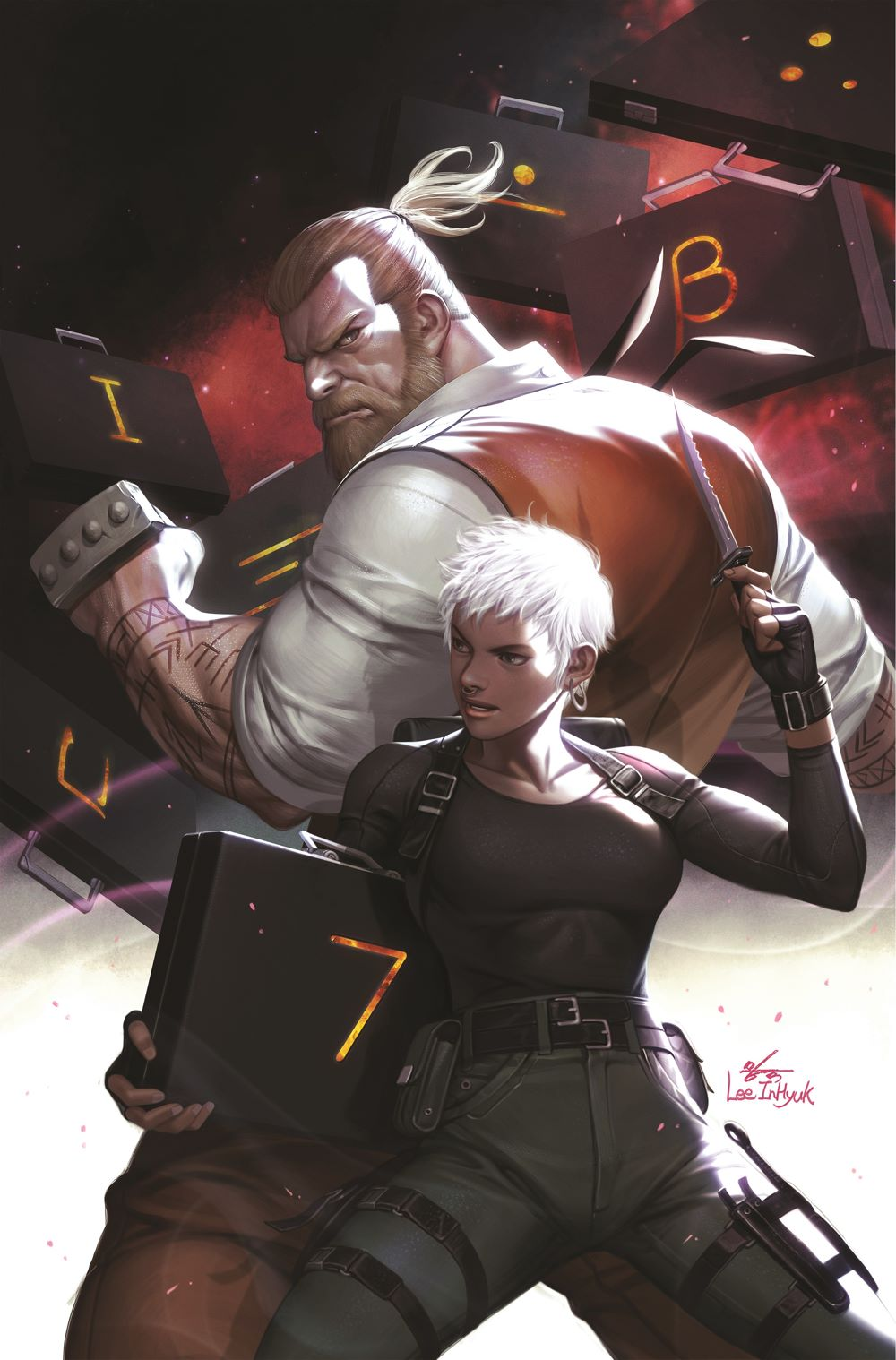 2a08d5a4-8842-4118-bc34-210d07ac9622 BOOM! Studios reveals trailer and and InHyuk Lee variant cover for SEVEN SECRETS #1