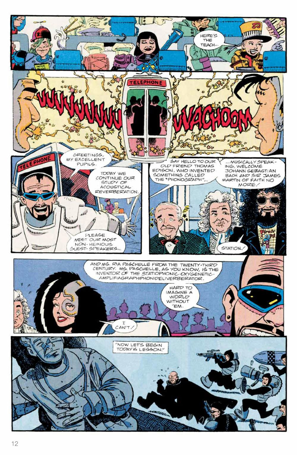 BillTed_Archive_SC_PRESS_14-1 ComicList Previews: BILL AND TED'S EXCELLENT COMIC BOOK ARCHIVE TP