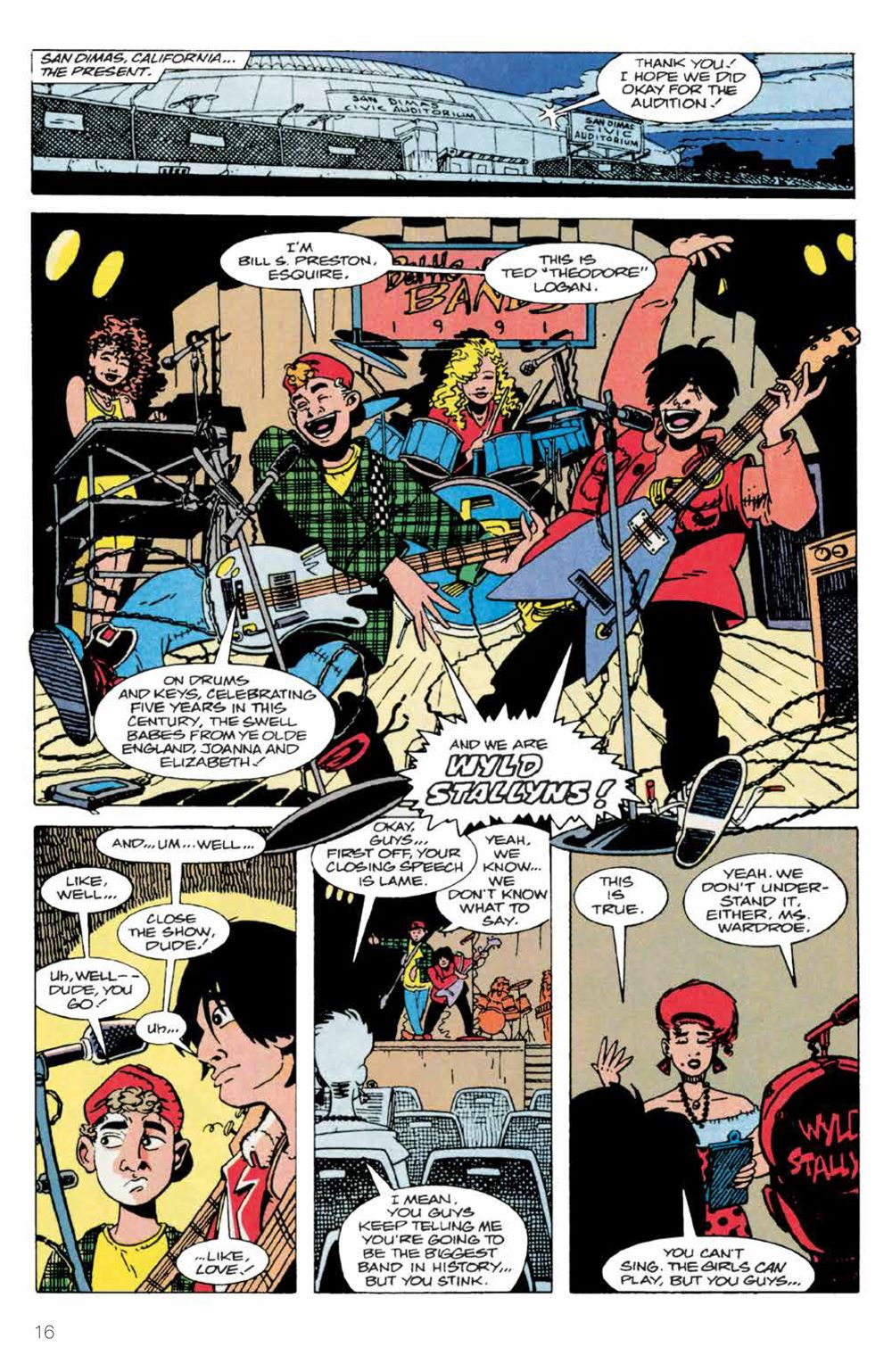 BillTed_Archive_SC_PRESS_18-1 ComicList Previews: BILL AND TED'S EXCELLENT COMIC BOOK ARCHIVE TP