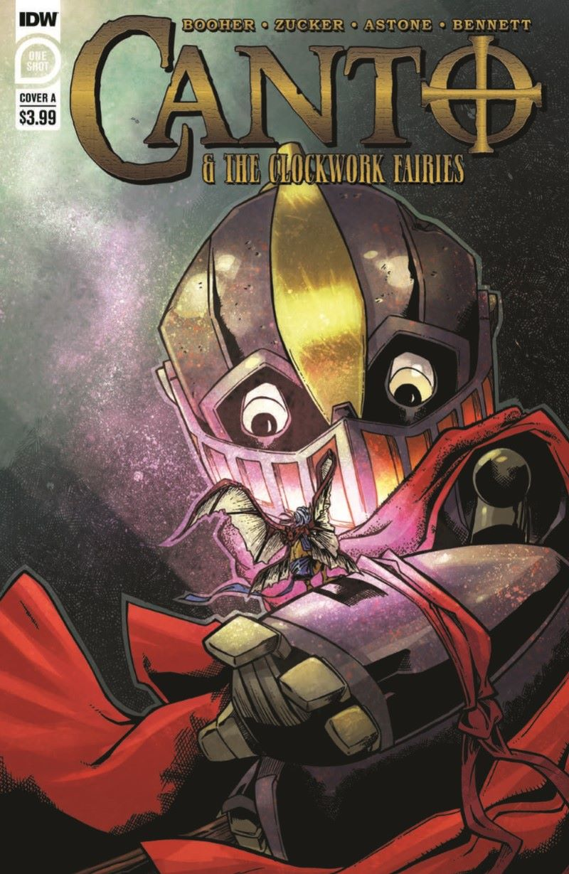 Canto-CWF_pr-1 ComicList Previews: CANTO AND THE CLOCKWORK FAIRIES #1