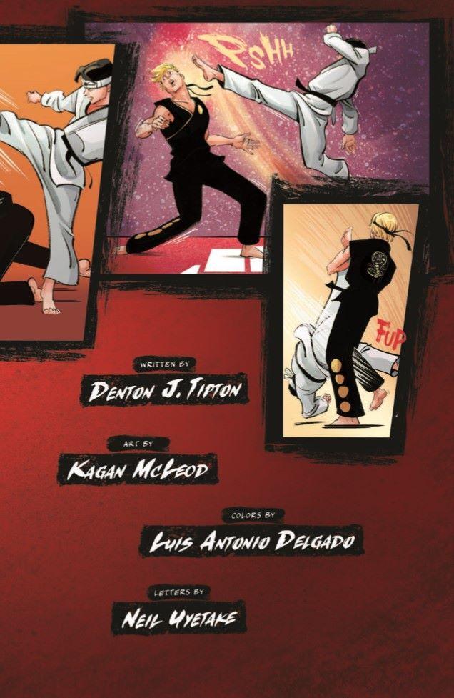 CobraKai_TPB-pr-3 ComicList Previews: COBRA KAI THE KARATE KID SAGA CONTINUES VOLUME 1 JOHNNY'S STORY TP