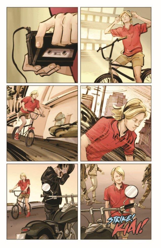 CobraKai_TPB-pr-4 ComicList Previews: COBRA KAI THE KARATE KID SAGA CONTINUES VOLUME 1 JOHNNY'S STORY TP