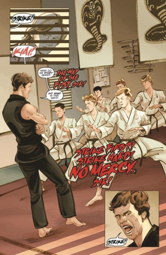 CobraKai_TPB-pr-5 ComicList Previews: COBRA KAI THE KARATE KID SAGA CONTINUES VOLUME 1 JOHNNY'S STORY TP