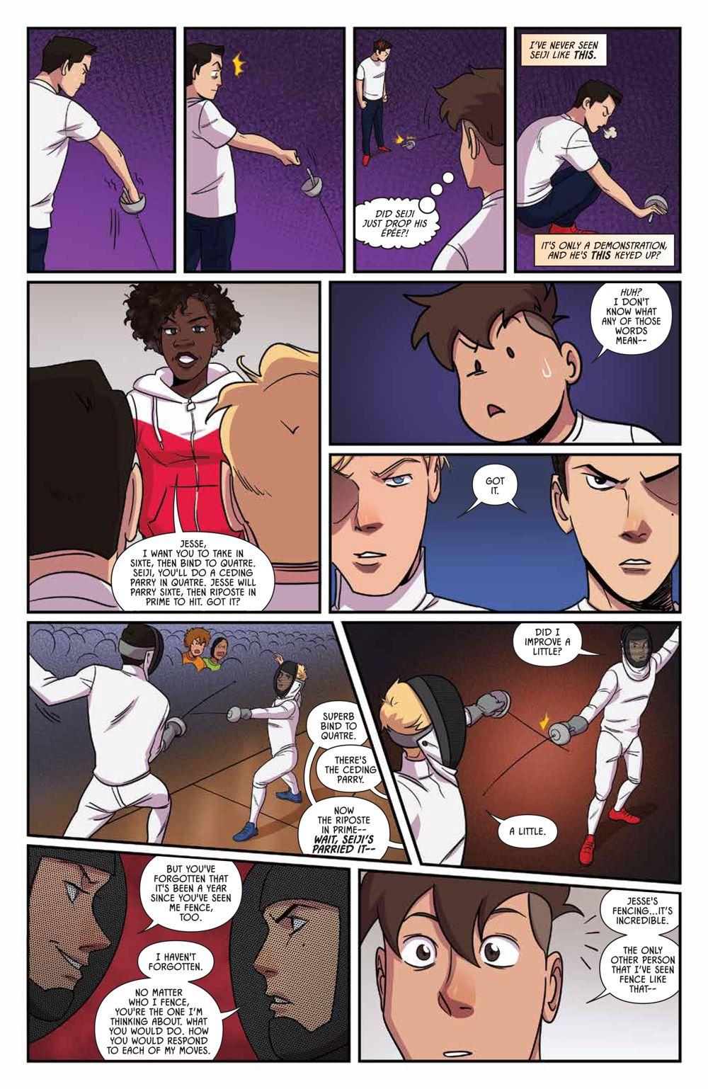 Fence_OGN_Rivals_SC_PRESS_13-1 ComicList Previews: FENCE RIVALS GN