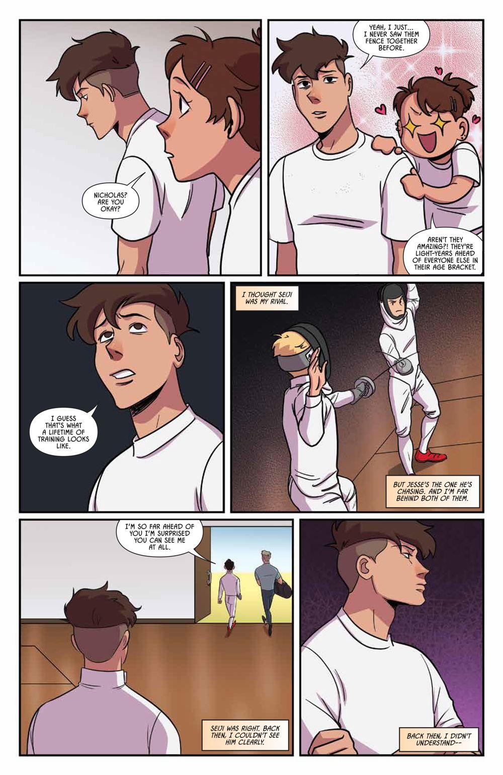 Fence_OGN_Rivals_SC_PRESS_15-1 ComicList Previews: FENCE RIVALS GN