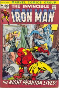 Iron-Man-44-201x300 Almost Infamous: Mr. Kline