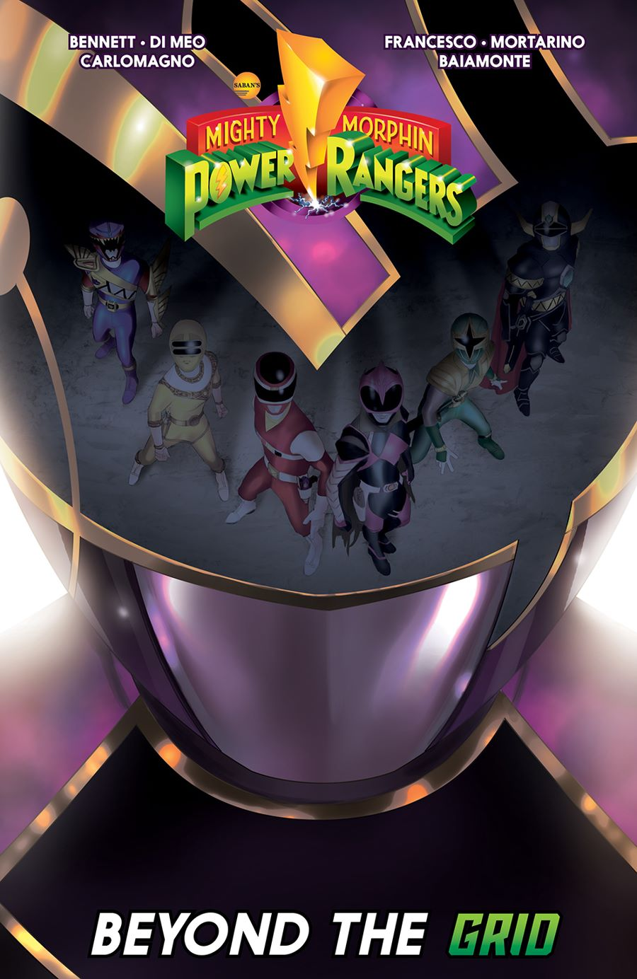 MMPR_BeyondGrid_SC_Cover ComicList Previews: MIGHTY MORPHIN POWER RANGERS BEYOND THE GRID TP