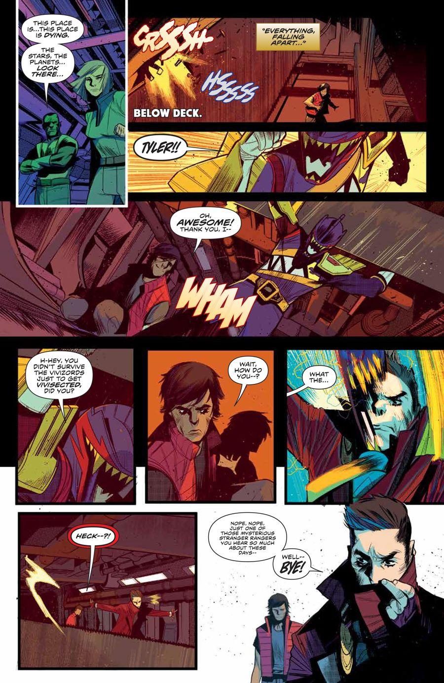 MMPR_BeyondGrid_SC_PRESS_14 ComicList Previews: MIGHTY MORPHIN POWER RANGERS BEYOND THE GRID TP