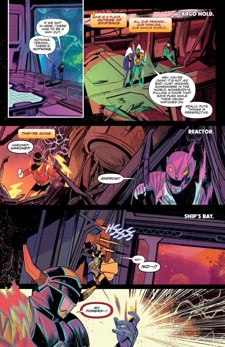 MMPR_BeyondGrid_SC_PRESS_15 ComicList Previews: MIGHTY MORPHIN POWER RANGERS BEYOND THE GRID TP