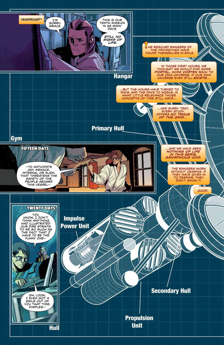 MMPR_BeyondGrid_SC_PRESS_18 ComicList Previews: MIGHTY MORPHIN POWER RANGERS BEYOND THE GRID TP