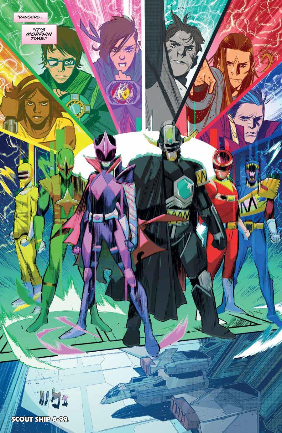MMPR_BeyondGrid_SC_PRESS_21 ComicList Previews: MIGHTY MORPHIN POWER RANGERS BEYOND THE GRID TP