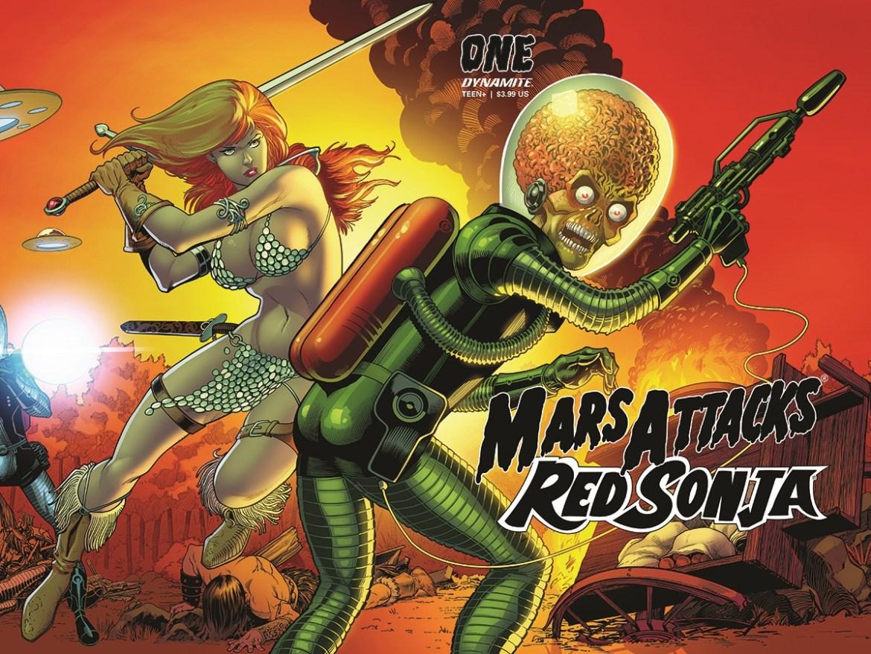 MarsAttacksRS-01-01051-E-KitsonWrap12x9_1 MARS ATTACKS RED SONJA; Red Sonja almost certainly retaliates