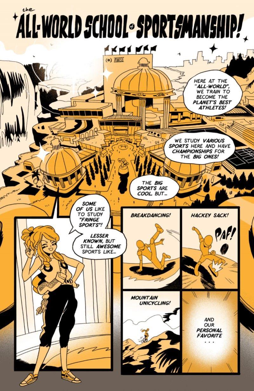 PENG-MARKETING-008 ComicList Previews: PENG ACTION SPORTS ADVENTURES GN