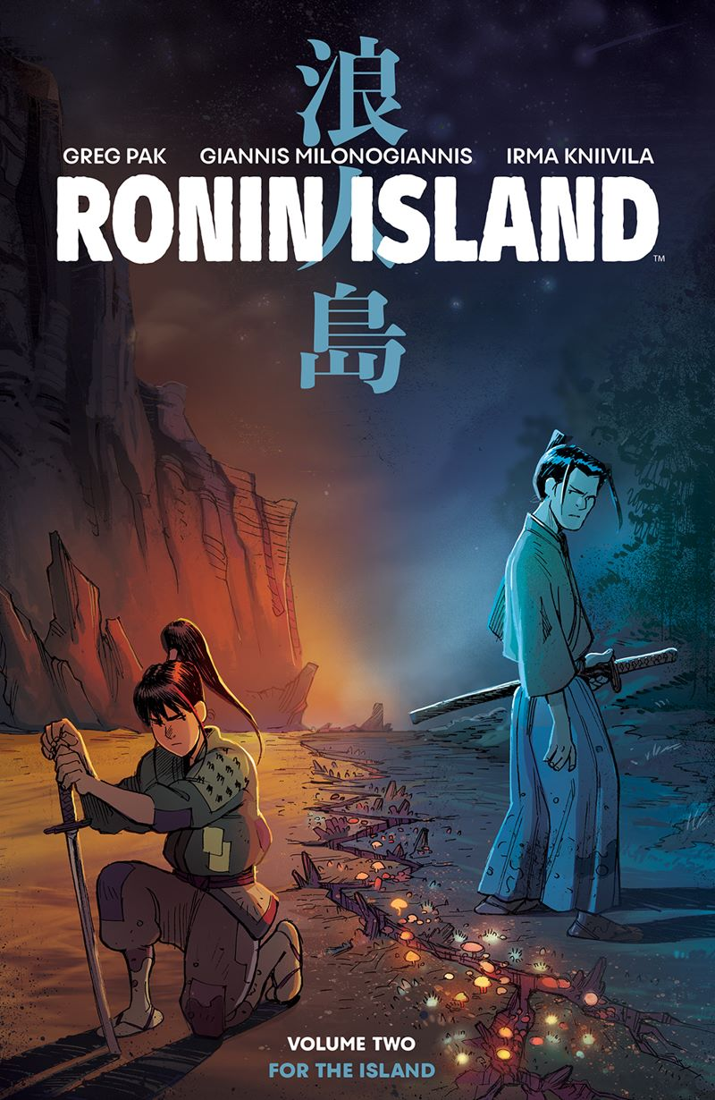 RoninIsland_v2_SC_Cover ComicList Previews: RONIN ISLAND VOLUME 2 TP