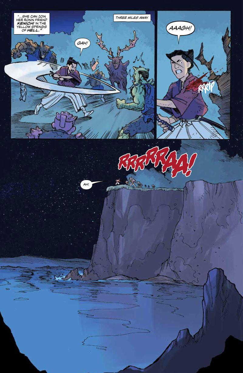 RoninIsland_v2_SC_PRESS_14 ComicList Previews: RONIN ISLAND VOLUME 2 TP