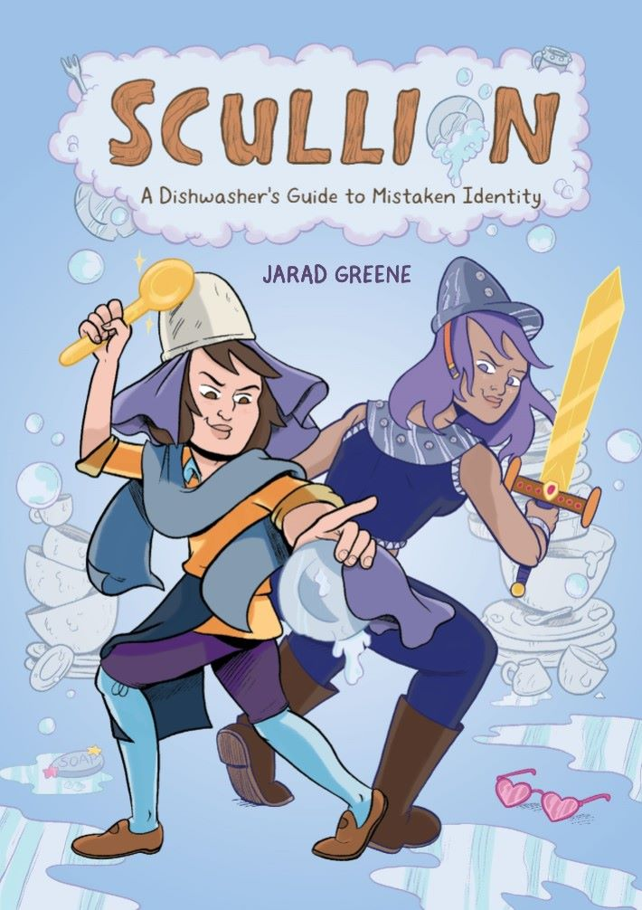 SCULLION-REFERENCE-001 ComicList Previews: SCULLION A DISHWASHER'S GUIDE TO MISTAKEN IDENTITY TP