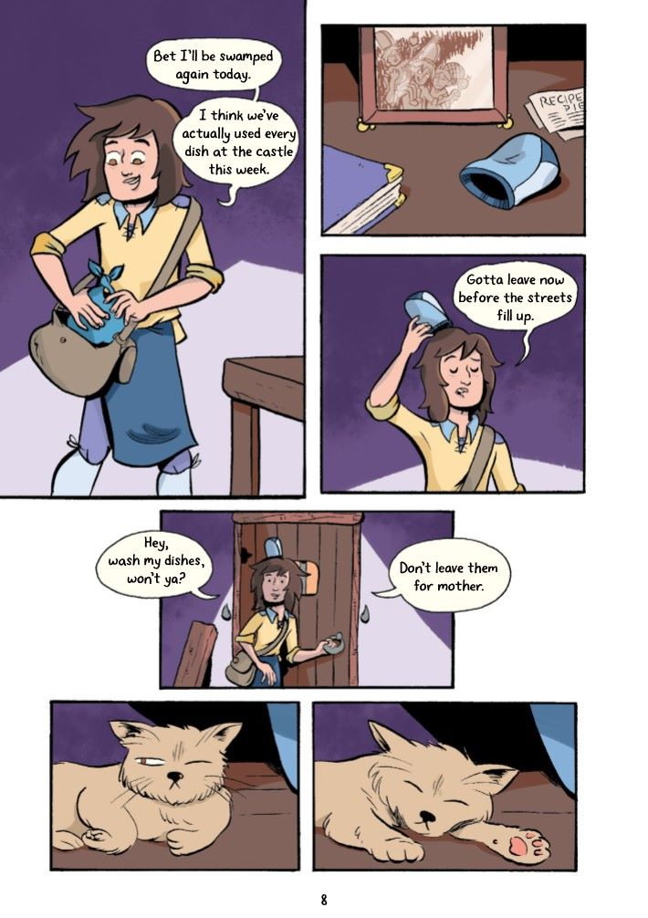 SCULLION-REFERENCE-009 ComicList Previews: SCULLION A DISHWASHER'S GUIDE TO MISTAKEN IDENTITY TP
