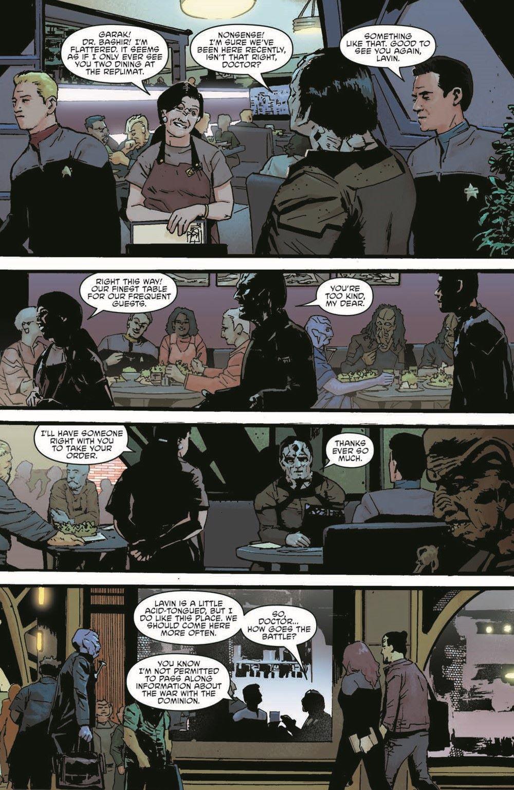 ST_DS9_01-pr-4 ComicList Previews: STAR TREK DEEP SPACE NINE TOO LONG A SACRIFICE #1