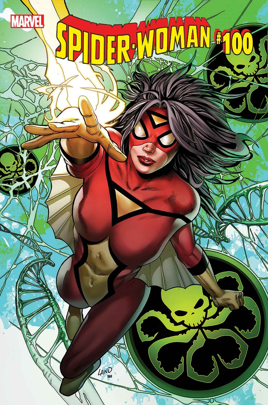 SWOMAN2020_100_COVER 100th issue of SPIDER-WOMAN to be published this October