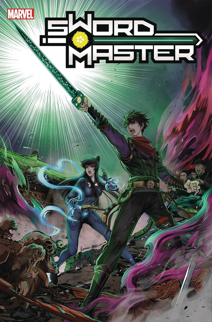 SWORDMASTER_12 AREO and SWORD MASTER to continue in print with new schedule