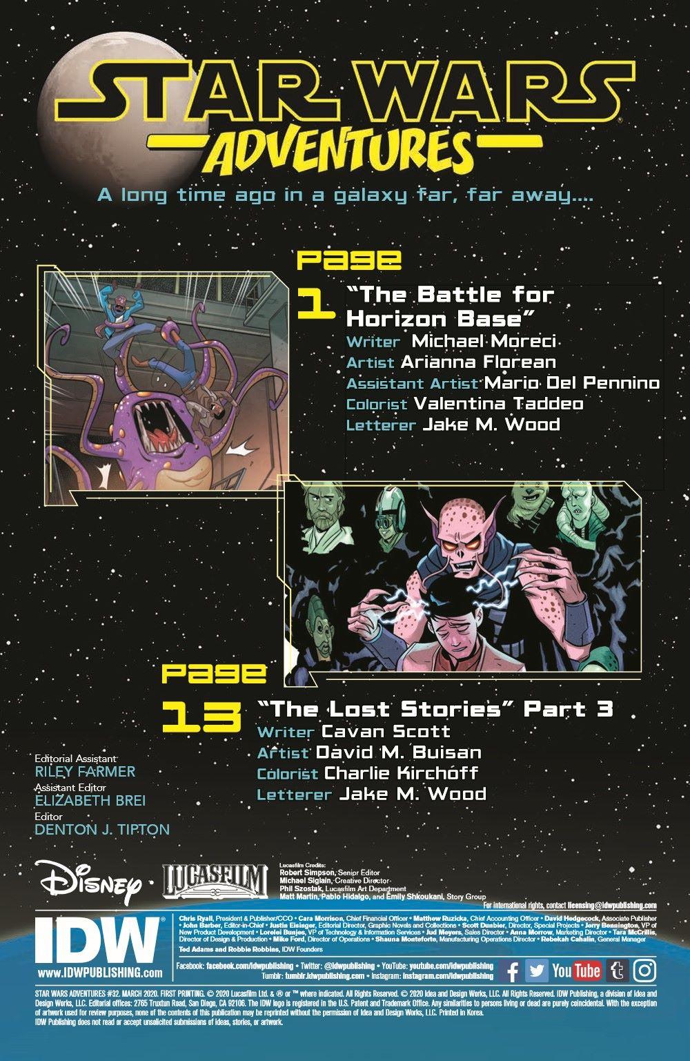StarWarsAdv32-pr-1-2 ComicList Previews: STAR WARS ADVENTURES #32