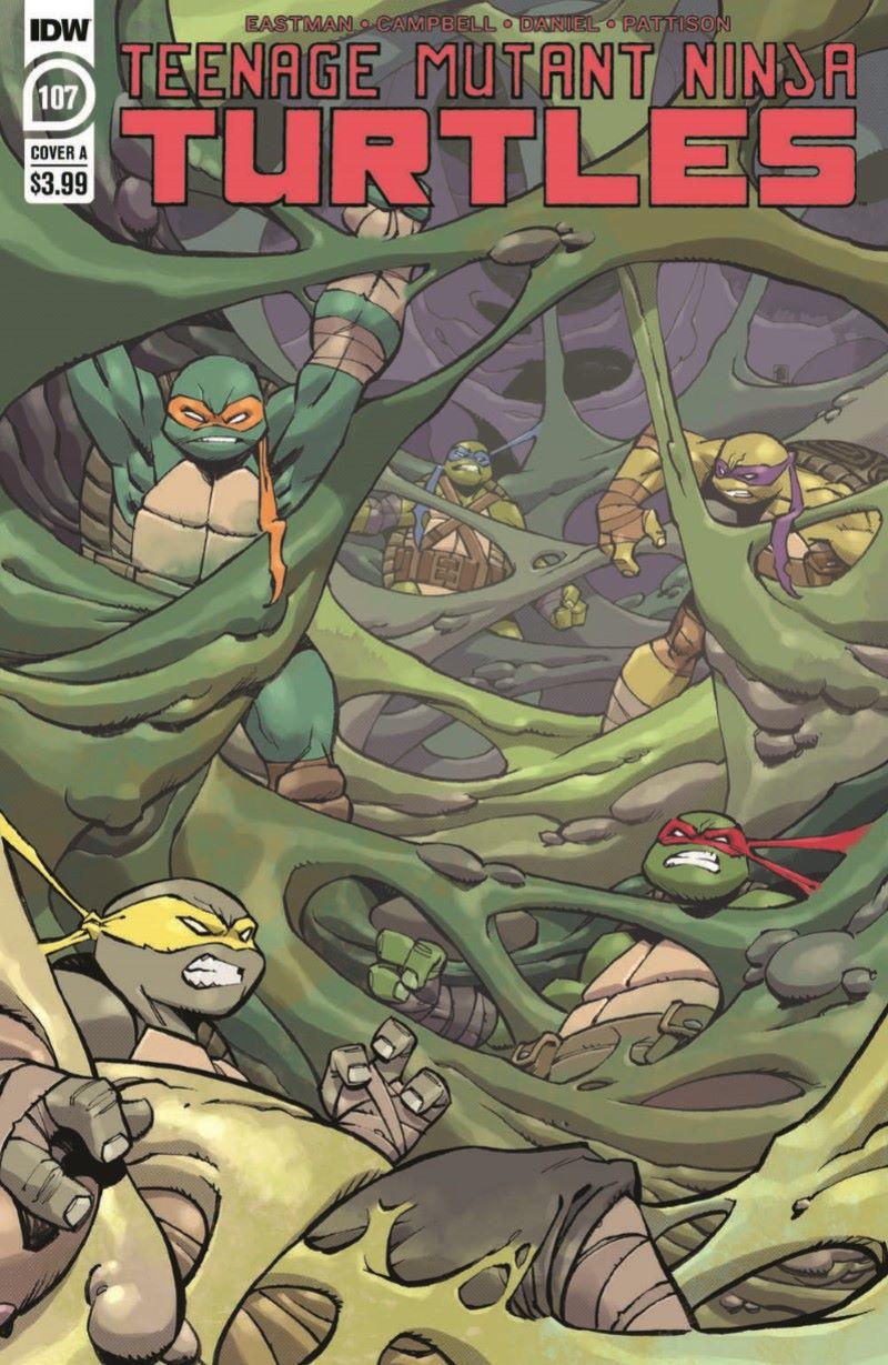 TMNT107_pr-1 ComicList Previews: TEENAGE MUTANT NINJA TURTLES #107