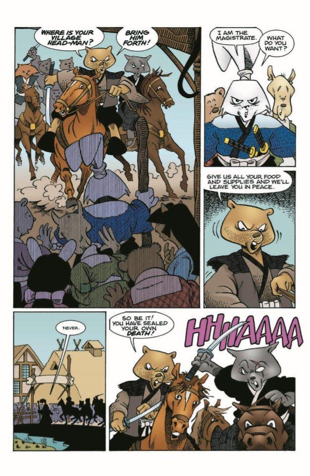 Usagi-CC04_pr-4 ComicList Previews: USAGI YOJIMBO COLOR CLASSICS #4