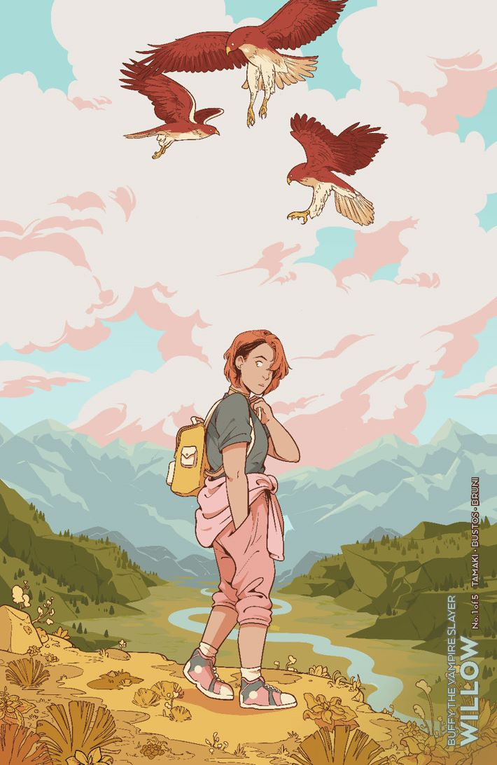Willow_001_Cover_Variant_OConnell_LOW ComicList Previews: BUFFY THE VAMPIRE SLAYER WILLOW #1