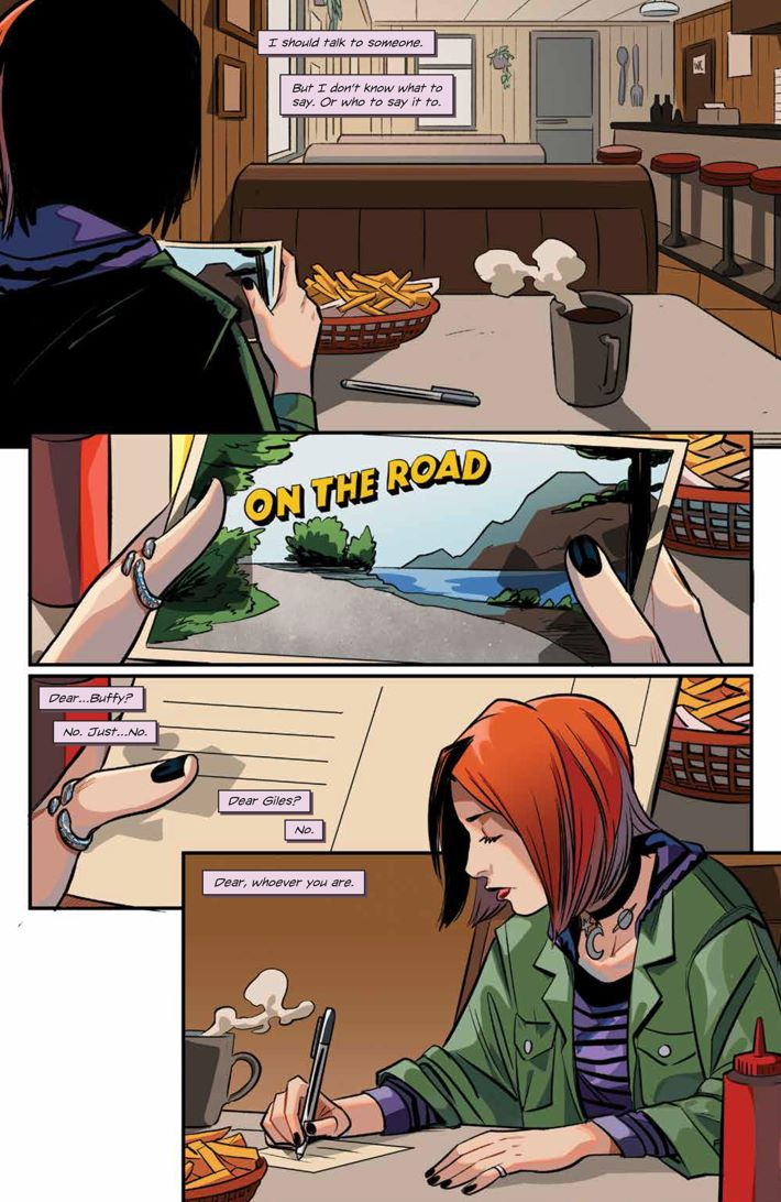 Willow_001_PRESS_3 ComicList Previews: BUFFY THE VAMPIRE SLAYER WILLOW #1