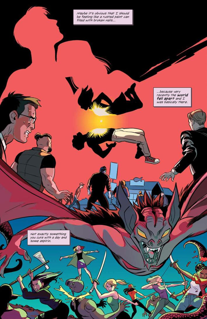 Willow_001_PRESS_4 ComicList Previews: BUFFY THE VAMPIRE SLAYER WILLOW #1