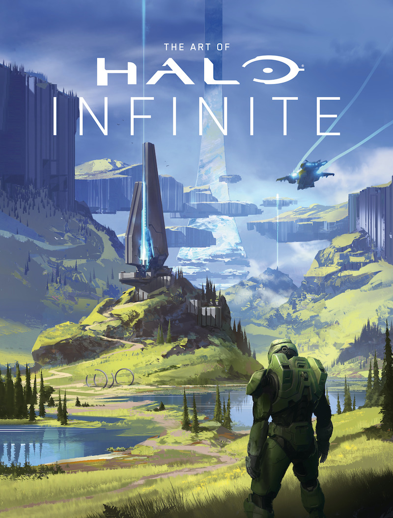 haloinfinitecov THE ART OF HALO INFINITE doesn't make a promise it can't keep